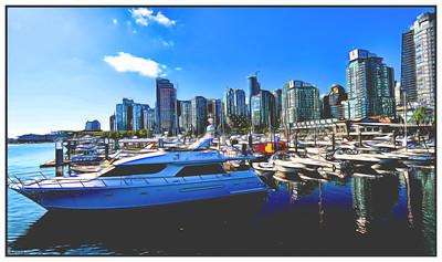 Vancouver, British Columbia, Canada - 2015.