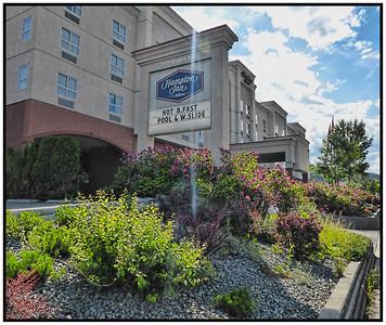 The Hampton Inn, Kamloops, British Columbia, Canada - 2015.