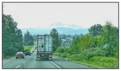 Vancouver To Chilliwack, British Columbia, Canada - 2015.
