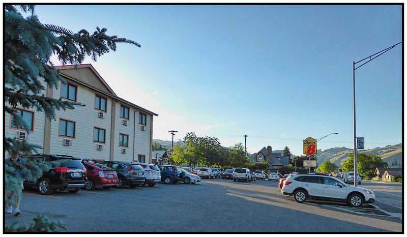 The Super 8 Motel, Gardiner, Montana, USA - 2015.