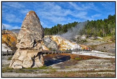 Yellowstone National Park, Wyoming, USA - 2015.