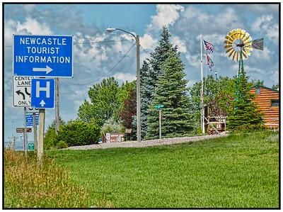 Newcastle, Wyoming, USA - 2015.
