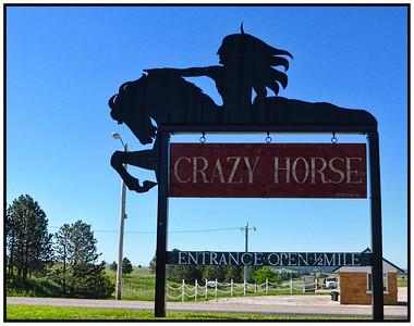Crazy Horse Memorial, Custer County, South Dakota, USA - 2015.
