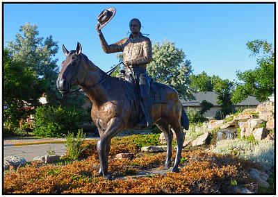 Douglas, Wyoming, USA - 2015.