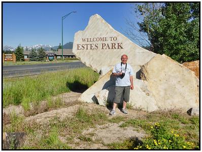 Estes Park, Colorado, USA - 2015.