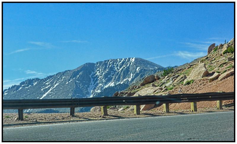 Pikes Peak, Colorado, USA - 2015.