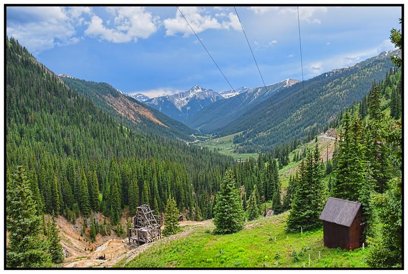 Red Mountain Pass, Colorado, USA - 2015.