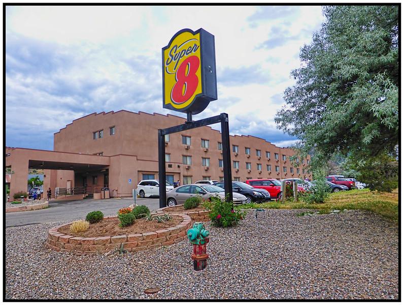 The Super 8 Motel, Durango, Colorado, USA - 2015.