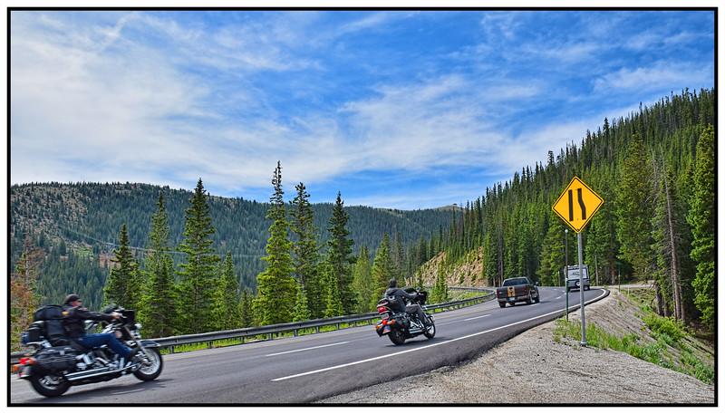 Monarch Pass, Colorado, USA - 2015.
