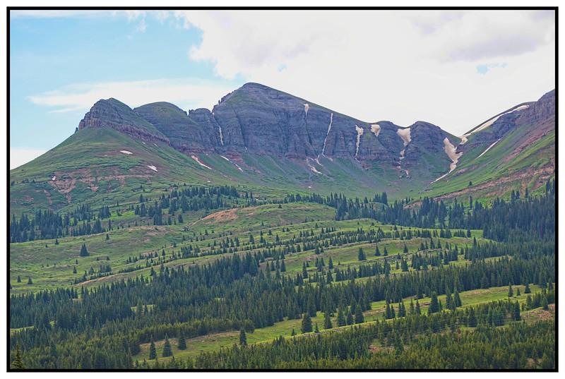 Molas Pass To Coalbank, Colorado, USA - 2015.