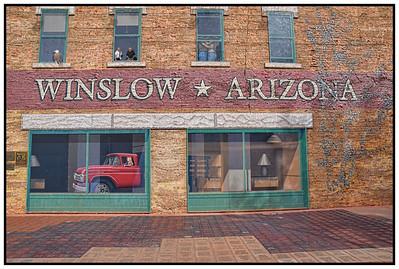 Winslow, Arizona, USA - 2015.