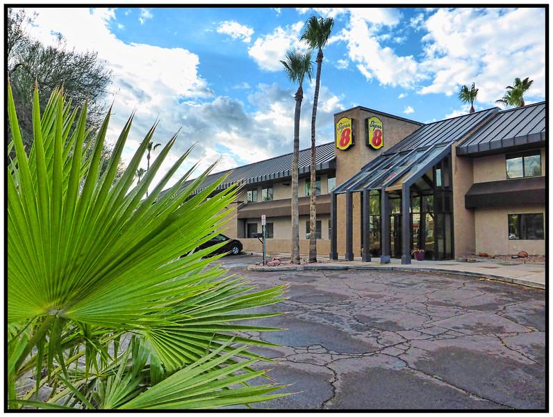 The Super 8 Motel, Phoenix, Arizona, USA - 2015.