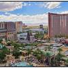 Views Of The Strip From The Palazzo, Las Vegas, Nevada, USA - 2015.