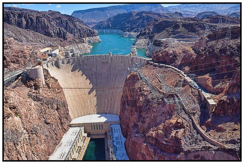 The Hoover Dam, Nevada, USA - 2015.