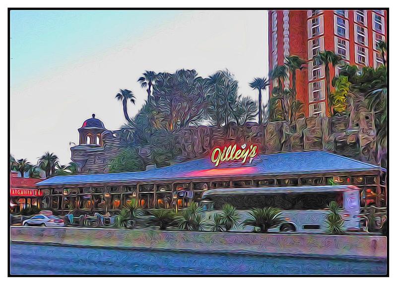 Gilley's, Las Vegas, Nevada, USA - 2015.