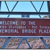 The New Hoover Dam By - Pass Memorial Bridge, Nevada, USA - 2015.