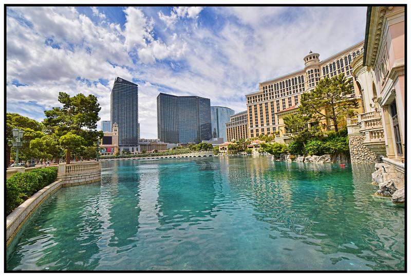 Bellagio, Las Vegas, Nevada, USA - 2015.