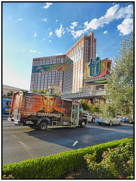 Treasure Island, Las Vegas, Nevada, USA - 2015.