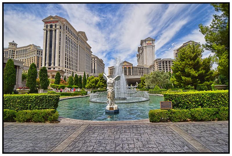 Caesars Palace, Las Vegas, Nevada, USA - 2015.