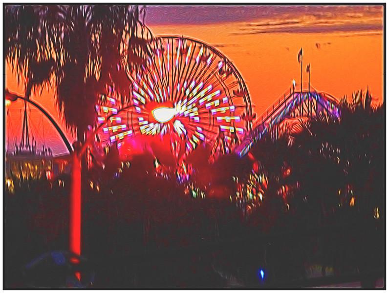 Views From Our Room At  Loews Beach Hotel, Santa Monica, California, USA - 2015.