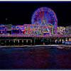 Santa Monica Pier, Santa Monica, California, USA - 2015.