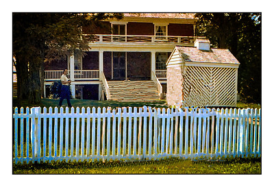 Appomattox Court House National Historical Park - USA - America The Civil War Years.