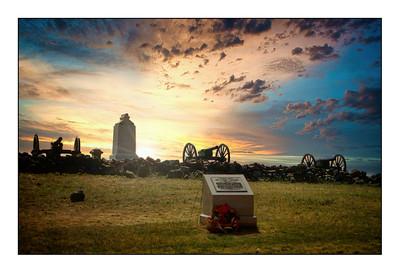 Gettysburg National Military Park - USA - America The Civil War Years.