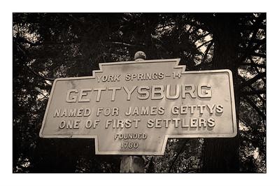 Gettysburg National Cemetery - USA -  America The Civil War Years.