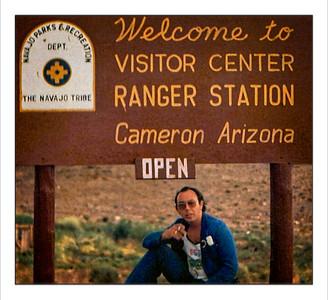 Cameron, Arizona, USA - 1977.