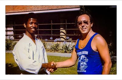 UCLA, California, USA - 1977.