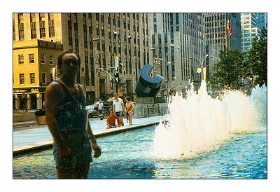 New York City, New York, USA - 1980.