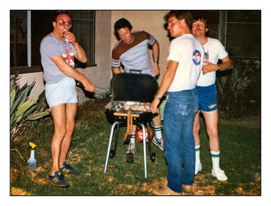 Costa Mesa, California, USA - 1984.
