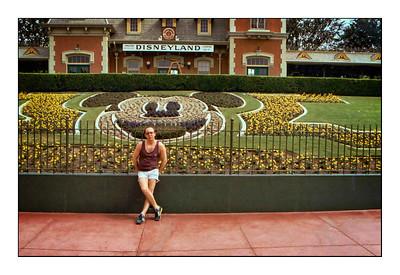 Disneyland, Magic Kingdom, Anaheim, California, USA - 1984.