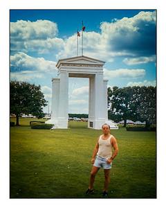 Peace Arch Park, British Columbia,  Canada, - 1986.