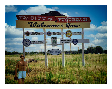 Tucumcari, New Mexico, USA - 1992.