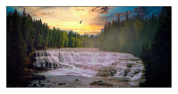 Helmcken Falls, British Columbia, Canada - 1994.