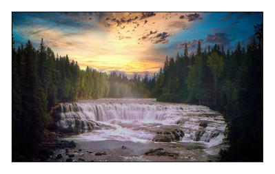 Helmcken Falls, British Columbia, Canada - 1994.