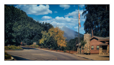 Big Sur Ranger Station, California, USA - 1996.