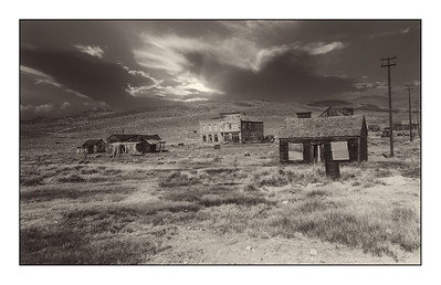 Bodie State Historic Park, California, USA -  Over The Years.