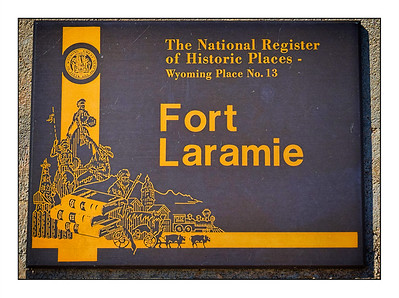 Fort Laramie National Historic Site, Wyoming, USA - Over The Years.