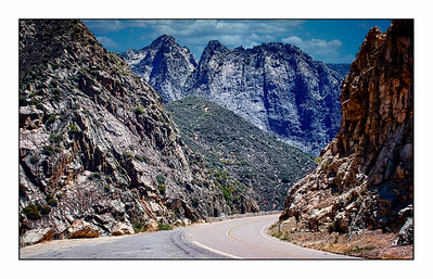 Kings Canyon National Park, California, USA - Over The Years.