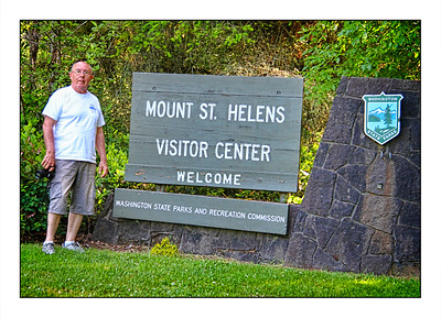 Mount St  Helens National Volcanic Monument, Washington State, USA - Over The Years.