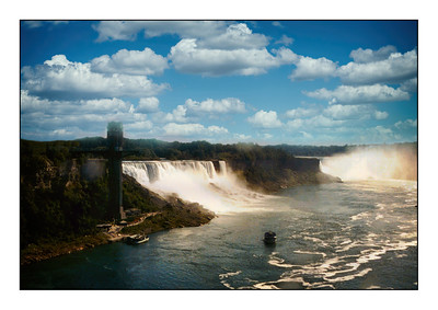 Niagara Falls State Park, New York, USA - Over The Years.