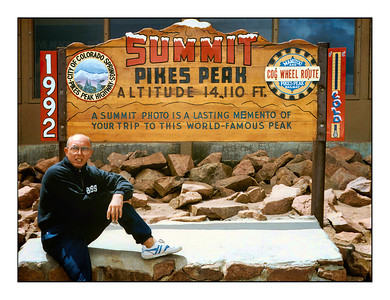 Pikes Peak, America's Mountain, Colorado, USA - Over The Years.