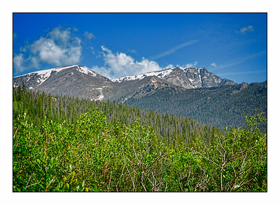 Rocky Mountain National Park, Colorado, USA - Over The Years.