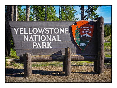 Yellowstone National Park, USA - Over The Years.