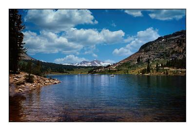 Yosemite National Park, California,  USA - 1984.