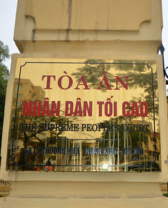 Hoan Kiem District, Hanoi, Vietnam. - 2014.