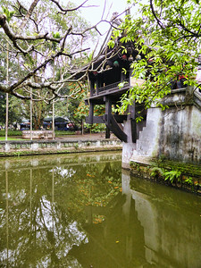 The One Pillar Pagoda, Hanoi, Vietnam. - 2014.