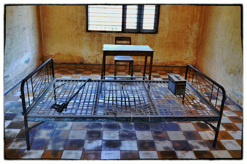 The Tuol Sleng Genocide Museum, 113, Phnom Penh, Cambodia. - 2014.